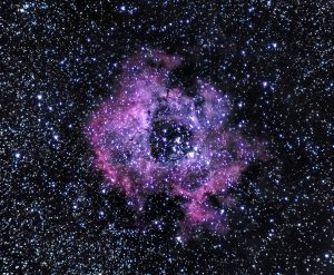 Nebulosa Roseta. Astronomía Mayo 2018