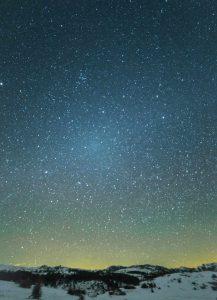Gegenschein. Astronomía Mayo 2018