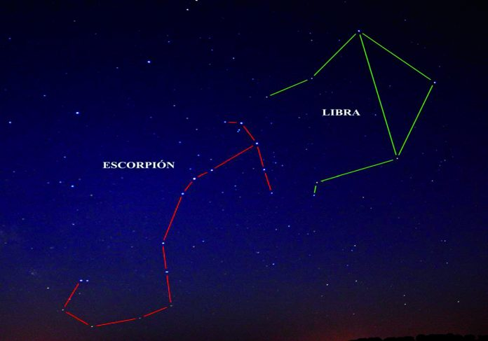 Constelación Libra