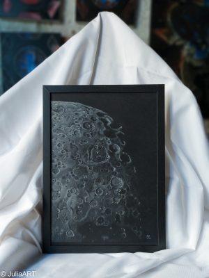 Cráteres de la Luna